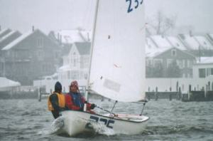 Jesse Falsone and Genie Jones at the 1997 Midwinters in Annapolis.